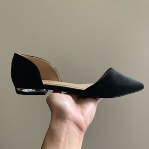 NEW‼️ ASOS Black Suede Flats